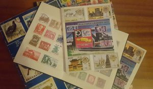 Postimerkkeily harrastuksena