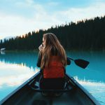 inkkarikanootti on järvellä hyvä