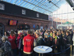 Käsityön harrastajat ja Kotimaisen kädentaidon ystävät kokoontuvat viikonloppuna Helsingin Wanhaan Satamaan