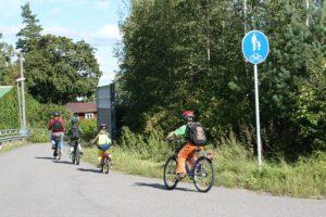 Turvallinen pyöräily lasten kanssa